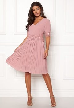 Happy Holly Alice occasion dress Dusty pink Bubbleroom.se