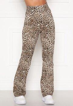 Happy Holly Ally jazz pants Leopard Bubbleroom.se