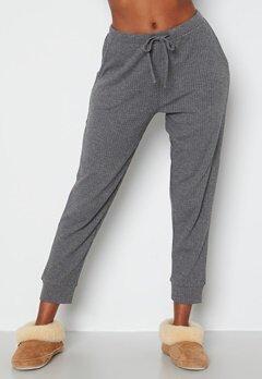 Happy Holly Amaya lounge pants Grey melange Bubbleroom.se