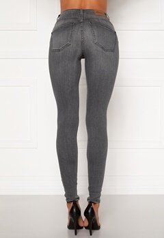 Happy Holly Amy push up jeans Grey Bubbleroom.se