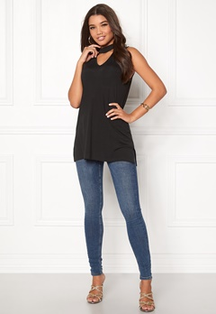 Happy Holly Anna tunic Black Bubbleroom.se