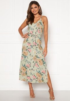 Happy Holly Annabelle dress Beige / Floral Bubbleroom.se