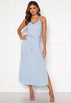 Happy Holly Annabelle dress Light blue / Striped Bubbleroom.se