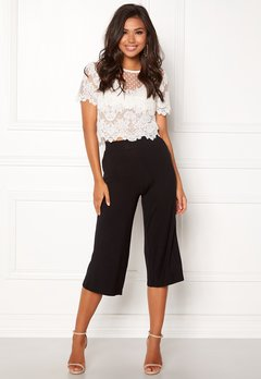 Happy Holly Anne Trousers Black Bubbleroom.se