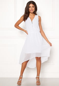 Happy Holly Annie dress White Bubbleroom.se