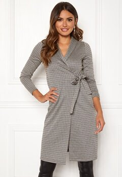 Happy Holly Ashley wrap cardigan Checked Bubbleroom.se