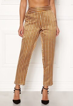 Happy Holly Athena pants Cinnamon / Patterned Bubbleroom.se