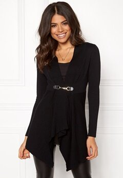 Happy Holly Beatrice long cardigan Black Bubbleroom.se