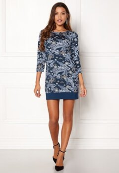 Happy Holly Belicia dress Blue / Patterned Bubbleroom.se