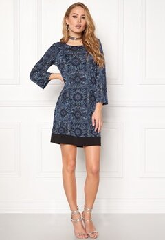 Happy Holly Belicia dress Black / Blue Bubbleroom.se