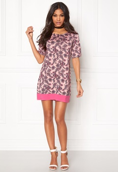 Happy Holly Belicia dress Pink / Patterned Bubbleroom.se