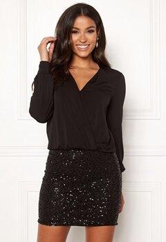 Happy Holly Belle dress Black Bubbleroom.se