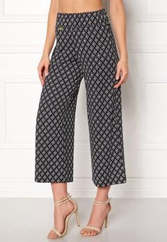 Happy Holly Bianka pants Black / Patterned Bubbleroom.se