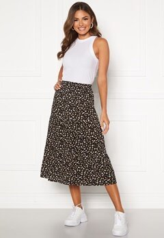 Happy Holly Bianka skirt Black / Patterned Bubbleroom.se