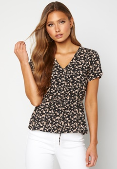 Happy Holly Blake blouse Black / Patterned Bubbleroom.se