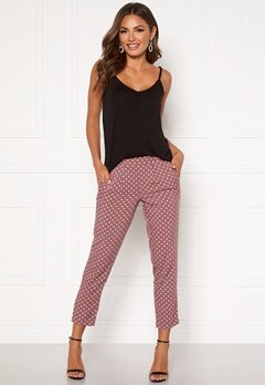 Happy Holly Blake pants Dusty pink / Dotted Bubbleroom.se