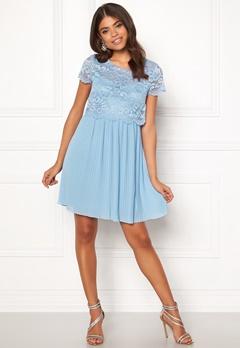 Happy Holly Blanche occasion dress Light blue Bubbleroom.se