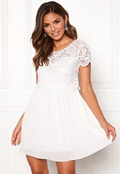 Happy Holly Blanche occasion dress White Bubbleroom.se