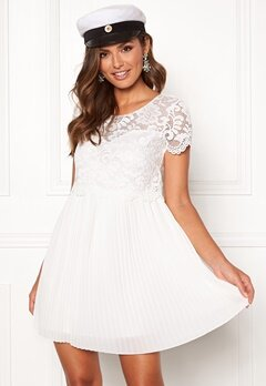 Happy Holly Blanche dress White Bubbleroom.se