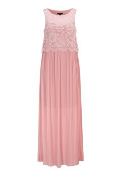 Happy Holly Blanche occasion maxi dress Dusty pink Bubbleroom.se