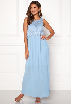 Happy Holly Blanche occasion maxi dress Light blue Bubbleroom.se