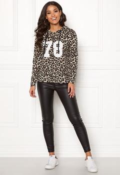 Happy Holly Camila short hood Leopard Bubbleroom.se