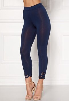 Happy Holly Flora Crop leggings Navy Bubbleroom.eu