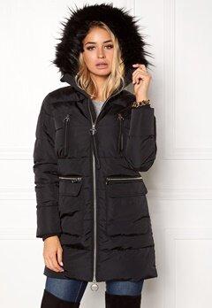 Happy Holly Cara jacket Black Bubbleroom.fi