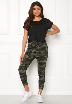 Happy Holly Carolyn tricot pants Camouflage Bubbleroom.se