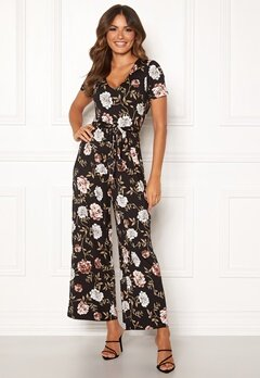 Happy Holly Celine Jumpsuit Black / Patterned Bubbleroom.se