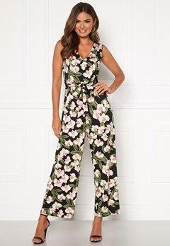Happy Holly Celine sleeveless jumpsuit Floral Bubbleroom.se