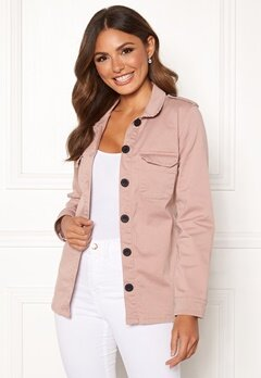 Happy Holly Cindy jacket Dusty pink Bubbleroom.se