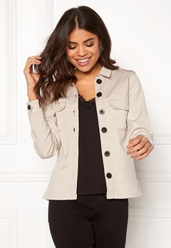 Happy Holly Cindy jacket Light beige Bubbleroom.se