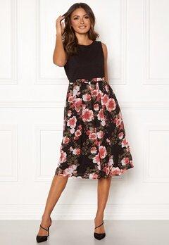 Happy Holly Clara occasion dress Black / Patterned Bubbleroom.se