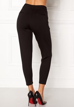 Happy Holly Cleo Trousers Black Bubbleroom.se