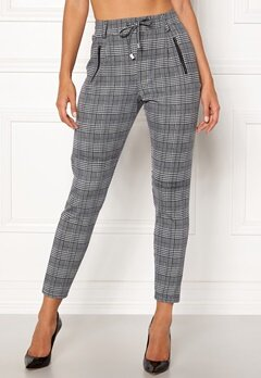 Happy Holly Cleo Trousers Checked Bubbleroom.se