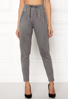 Happy Holly Cleo Trousers Grey Bubbleroom.se