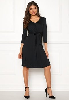 Happy Holly Colette dress Dark grey Bubbleroom.se