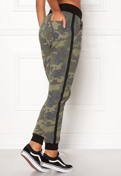 Happy Holly Dana Sweat pants Camouflage / Black Bubbleroom.eu