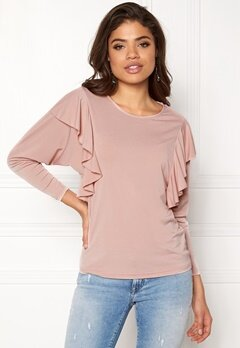 Happy Holly Danica top Dusty pink Bubbleroom.fi