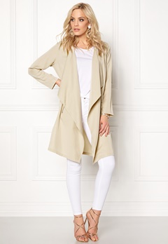 Happy Holly Daniela Coat (Ladies) Light beige Bubbleroom.eu