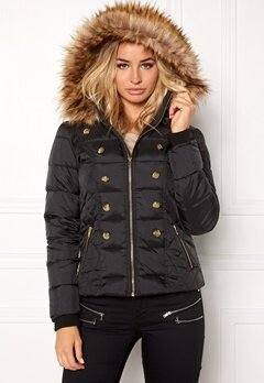 Happy Holly Danita jacket Black Bubbleroom.se
