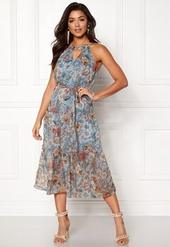 Happy Holly Debby dress Blue / Patterned Bubbleroom.se