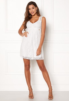 Happy Holly Della lace dress White Bubbleroom.se