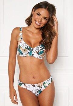 Happy Holly Donna bikini briefs White / Floral Bubbleroom.se