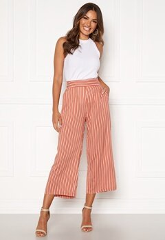 Happy Holly Ebba pants Coral / Striped Bubbleroom.se