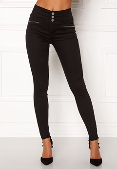 Happy Holly Elena jeans Black Bubbleroom.fi