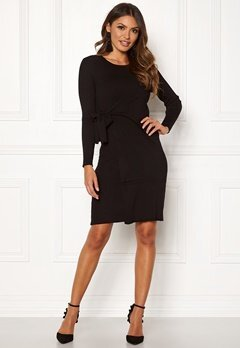 Happy Holly Elizabella knitted dress Black Bubbleroom.se