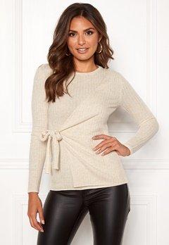 Happy Holly Elizabella sweater Offwhite / Melange Bubbleroom.se
