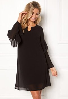 Happy Holly Elize dress Black Bubbleroom.no